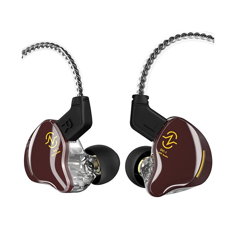 Ccz Coffee Bean 10mm Dual Magnetic Dynamic Driver Earphone (1)