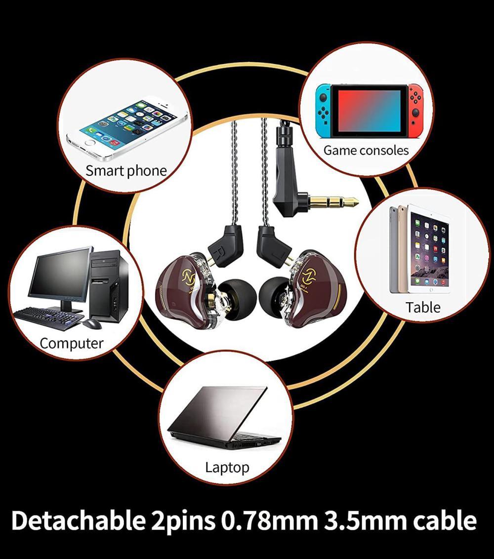 Ccz Coffee Bean 10mm Dual Magnetic Dynamic Driver Earphone (5)