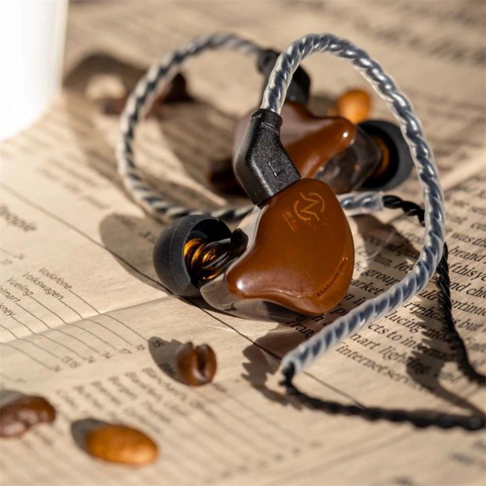 Ccz Coffee Bean 10mm Dual Magnetic Dynamic Driver Earphone (6)