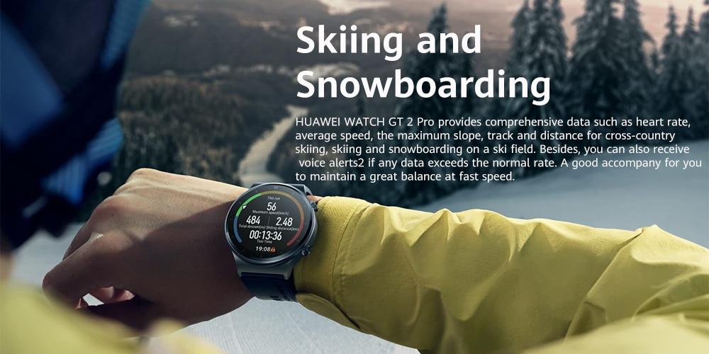 Huawei Watch Gt 2 Pro Amoled Touchscreen Smart Watch (2)