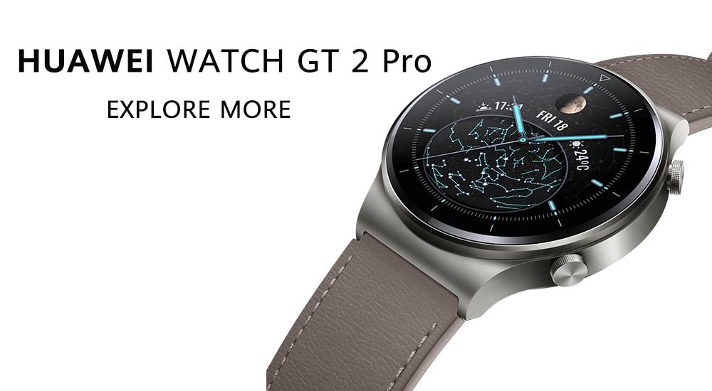 Huawei Watch Gt 2 Pro Amoled Touchscreen Smart Watch (4)