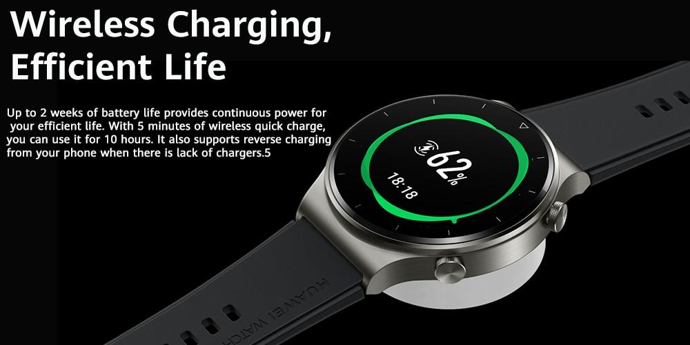 Huawei Watch Gt 2 Pro Amoled Touchscreen Smart Watch (5)