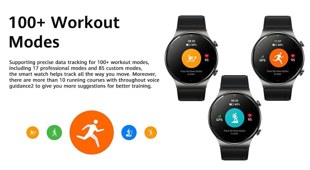 Huawei Watch Gt 2 Pro Amoled Touchscreen Smart Watch (6)