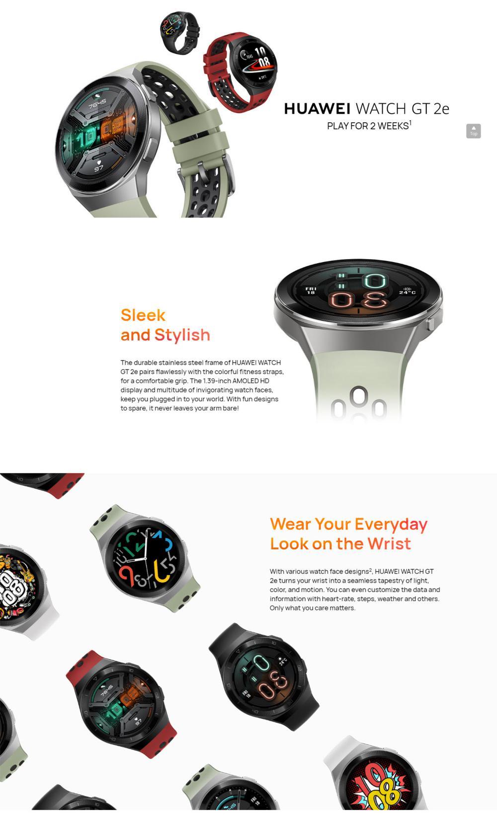 Huawei Watch Gt 2e Bluetooth Smartwatch (3)