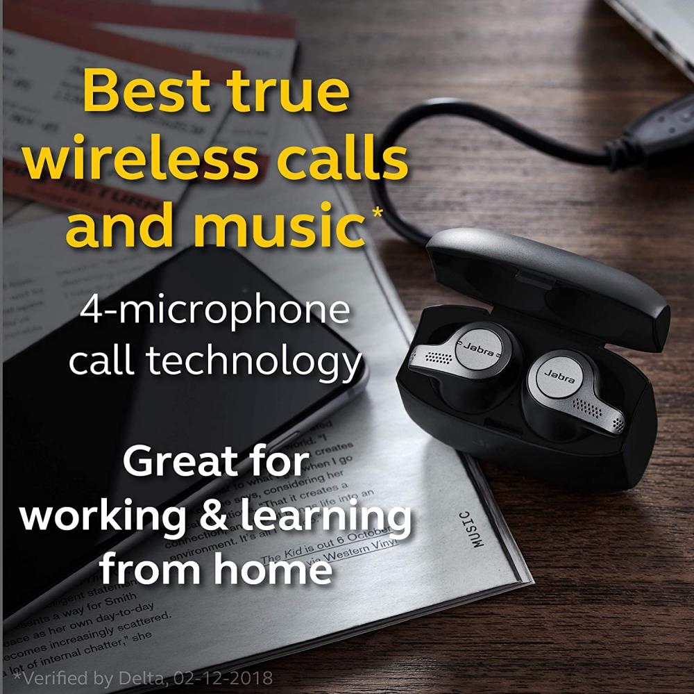 Jabra Elite 65t True Wireless Earbuds With Alexa Built In (2)