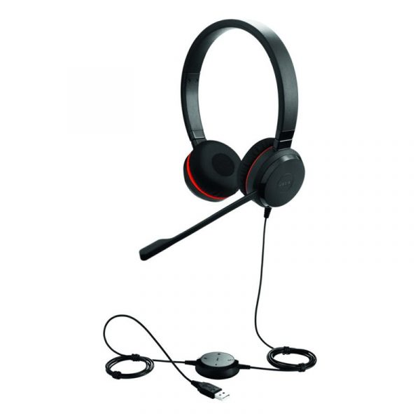 Jabra Evolve 30 Duo Usb 3 5mm With Quality Microphone (2)