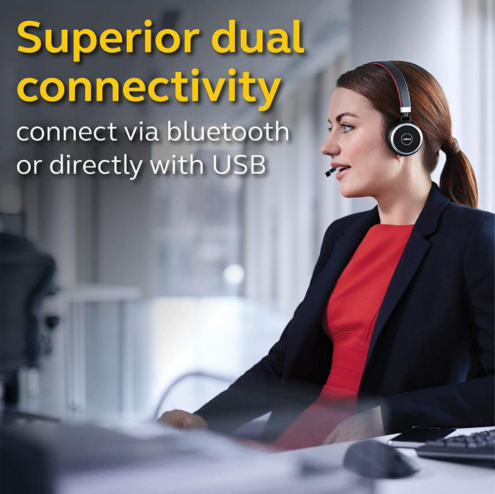Jabra Evolve 65 Ms Wireless Headset (2)