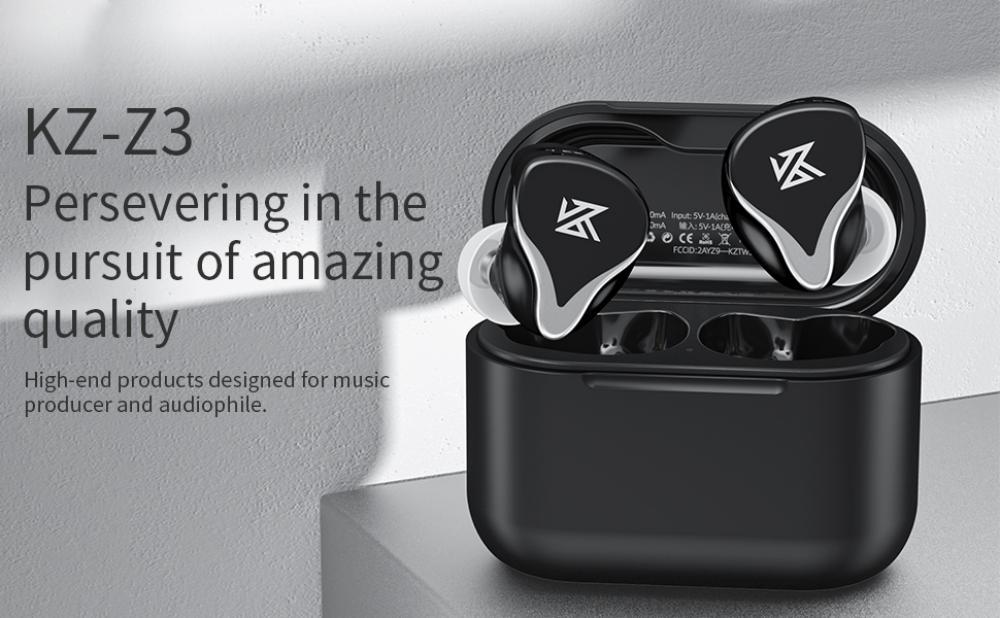Kz Z3 Tws Wireless Earphones Qualcomm Bluetooth 5 2 (1)