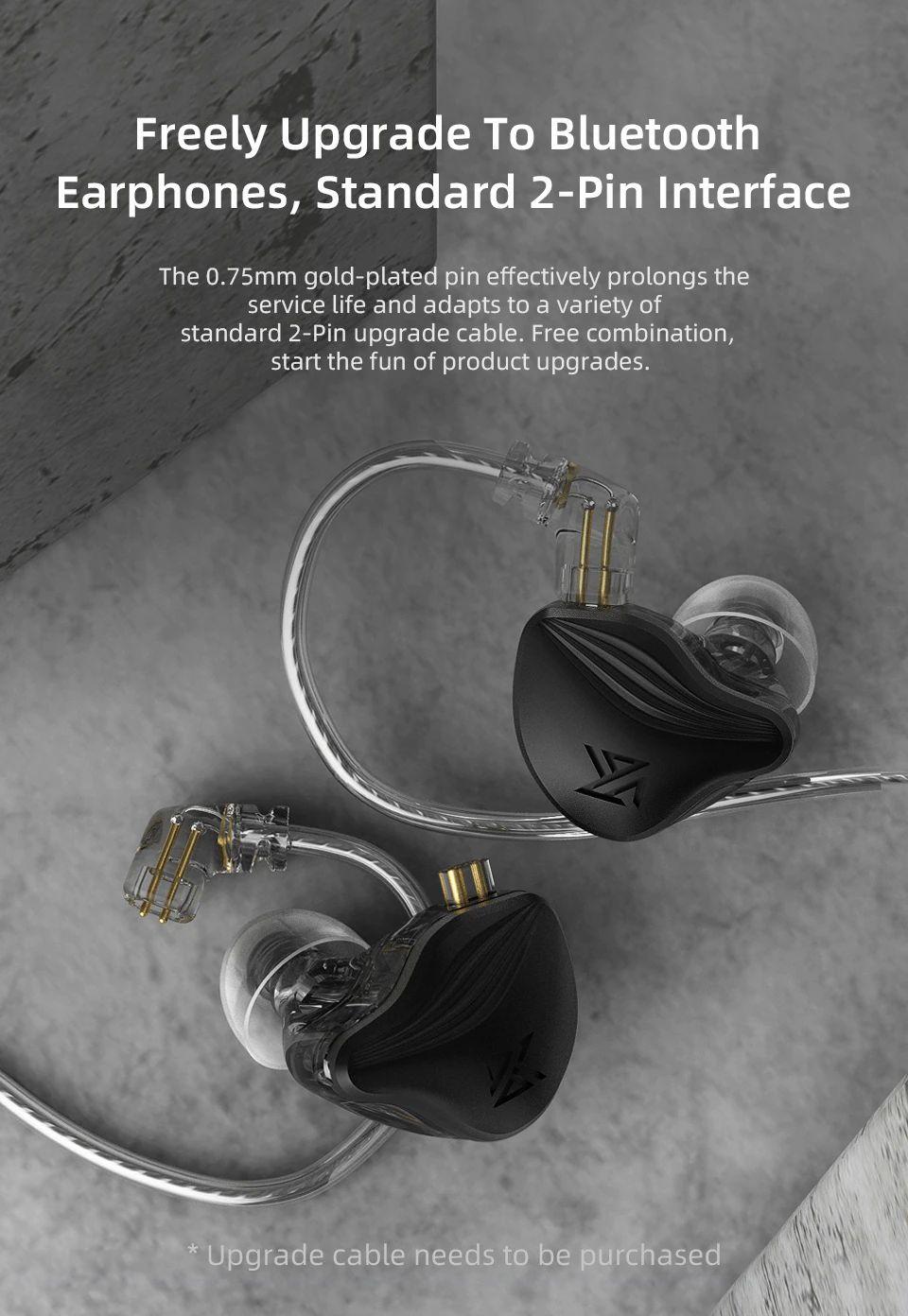 Kz Zex Electrostatic Earphones Double Unit Electrostatic And Dynamic (3)