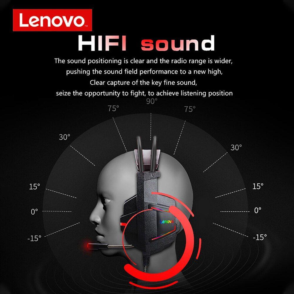 Lenovo Hu85 Game Headphone Usb2 0 Colorful With Microphone (2)