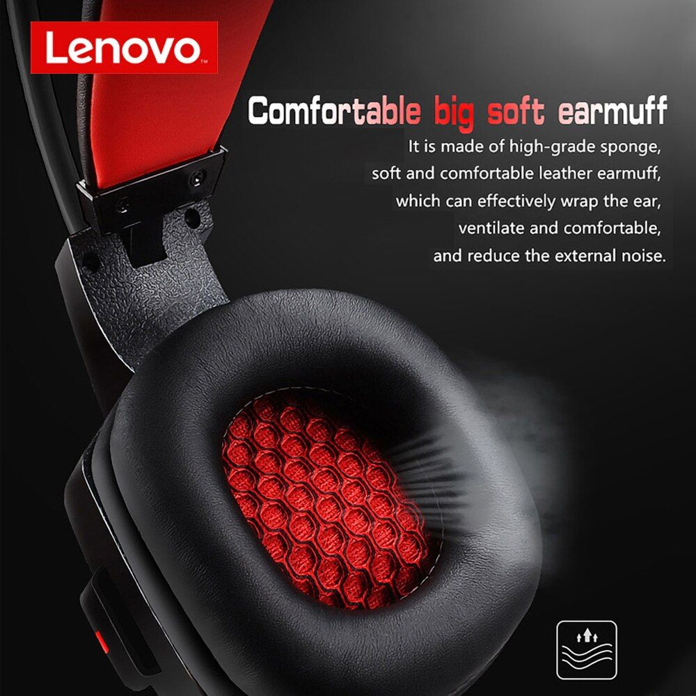 Lenovo Hu85 Game Headphone Usb2 0 Colorful With Microphone (5)