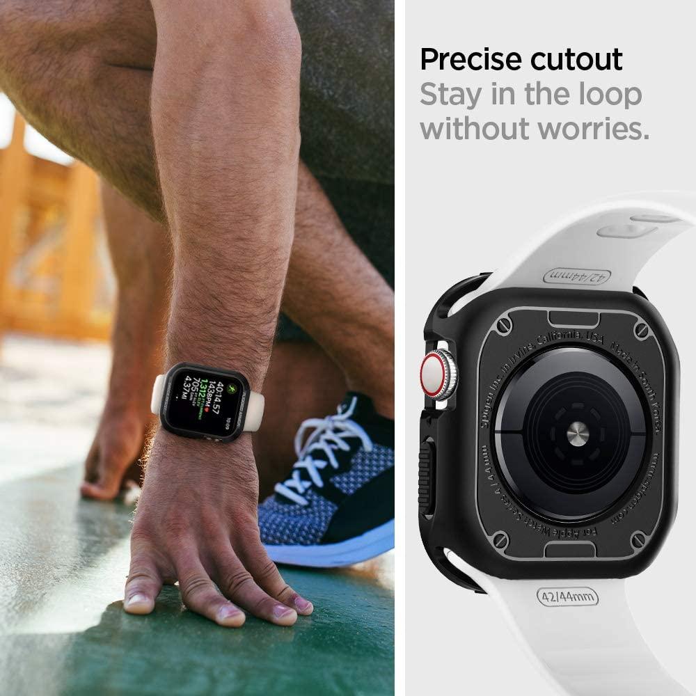 Spigen Rugged Armor Case For Apple Watch Series 4 44mm (3)