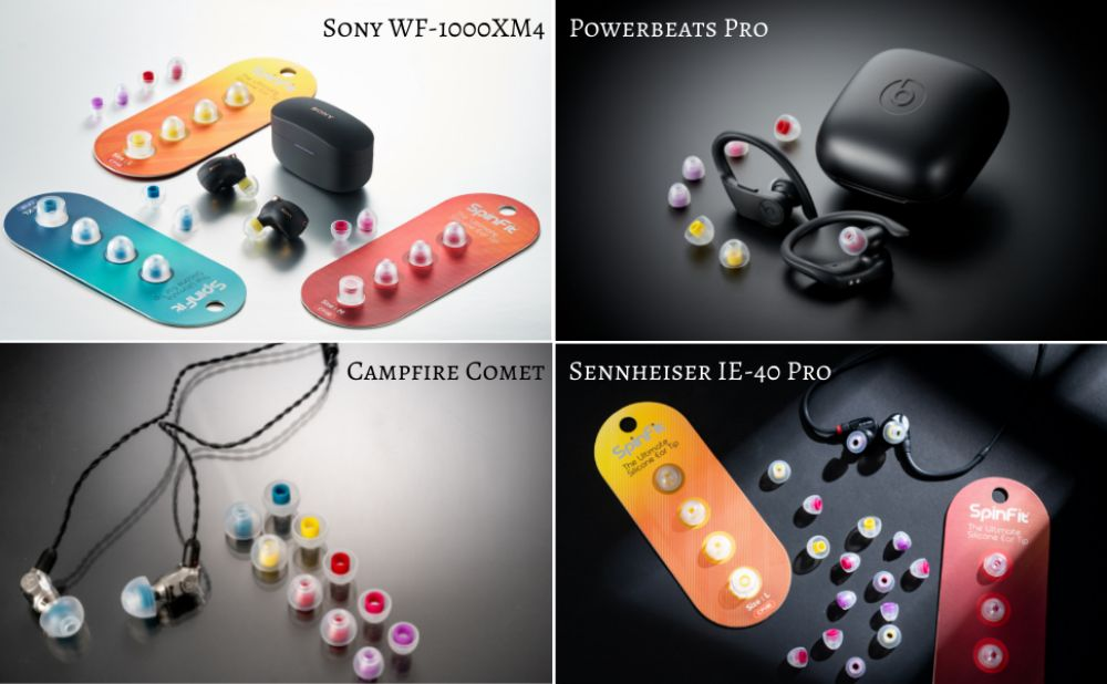 Spinfit Cp100 Silicone Eartips (2)