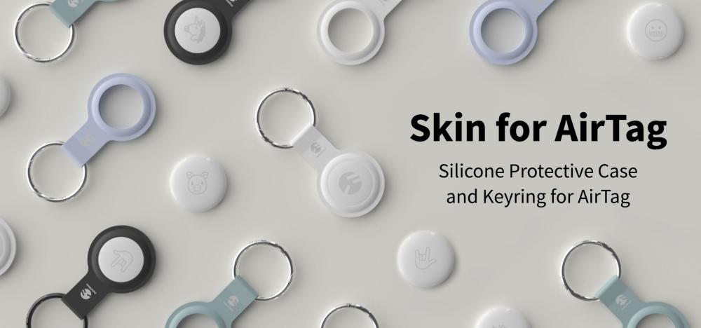 Switcheasy Skin Silicone Keyring For Airtag (4)