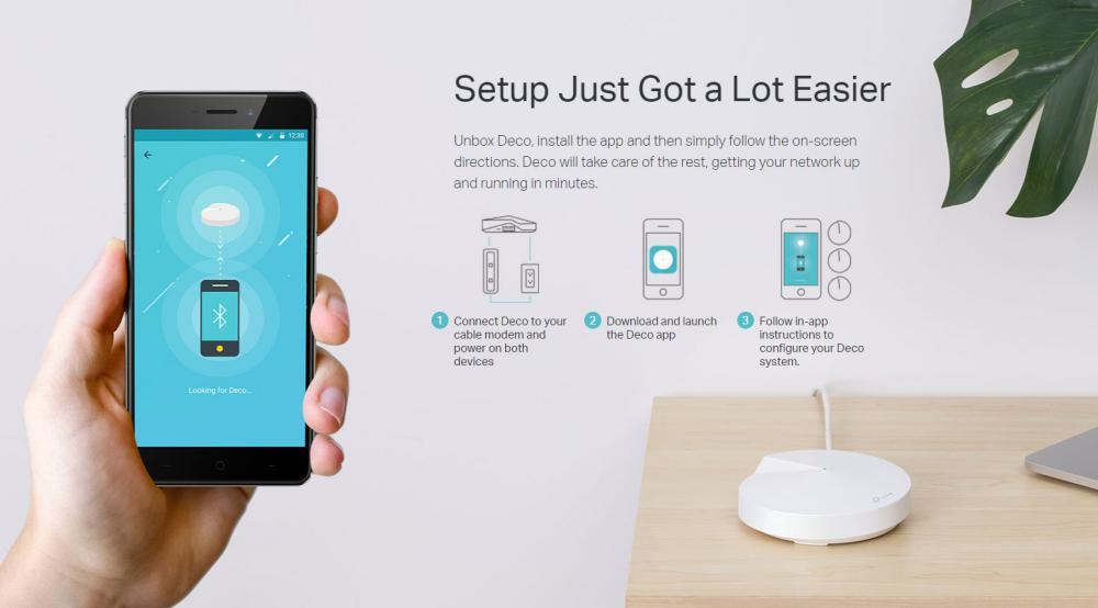 Tp Link Deco M5 Triple Ac1300 Whole Home Mesh Wi Fi System (6)