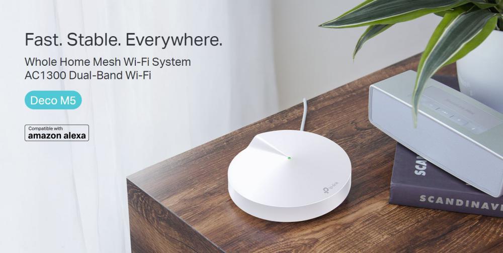 Tp Link Deco M5 Triple Ac1300 Whole Home Mesh Wi Fi System (8)
