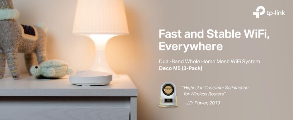 Tp Link Deco M5 Triple Ac1300 Whole Home Mesh Wi Fi System (9)