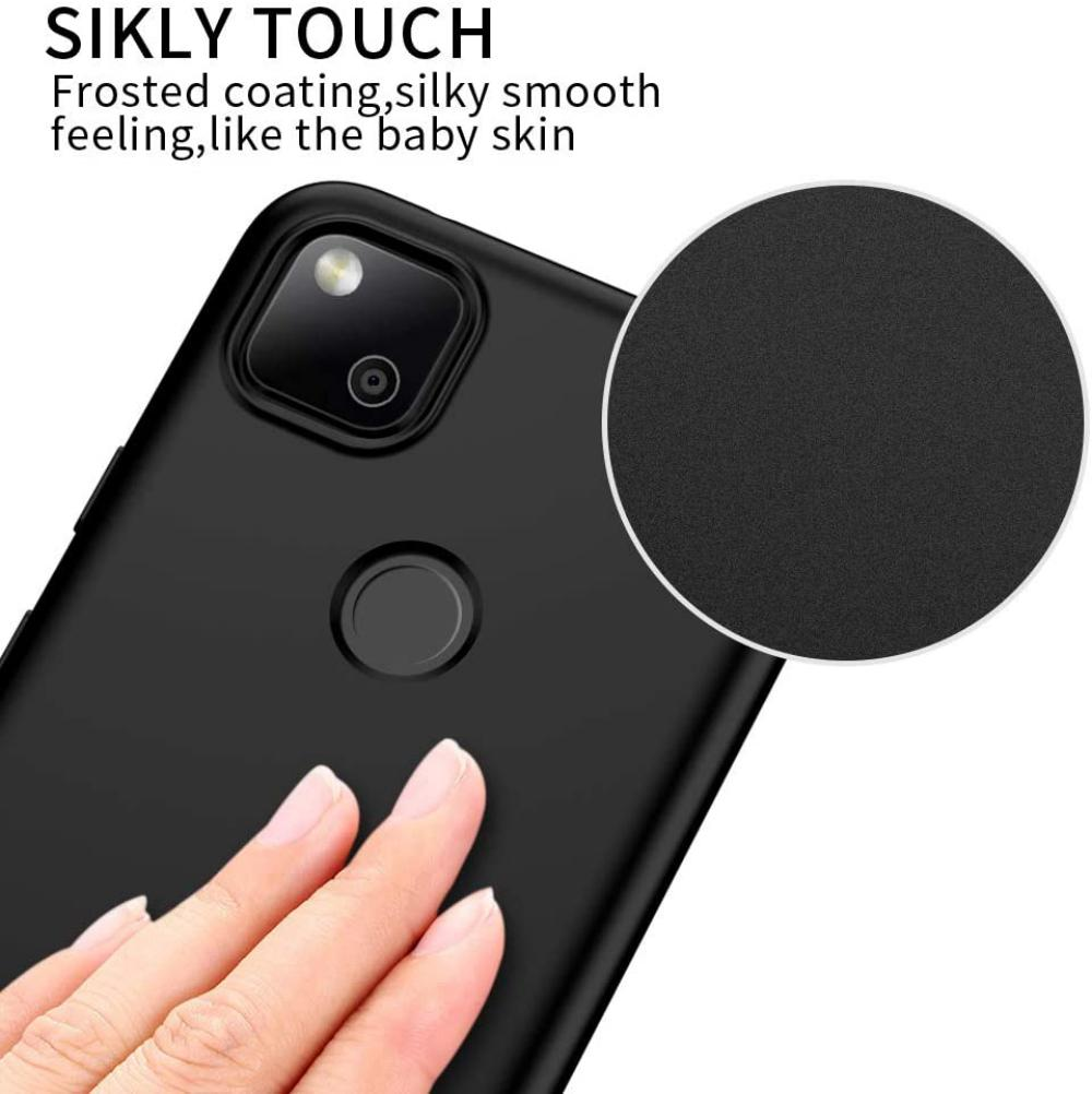 X Level Google Pixel 4a Case Tpu Matte Finish Slim Fit Ultra Thin Light Protective Cell Phone Back Cover For Google Pixel 4a (2)