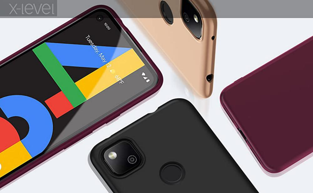 X Level Google Pixel 4a Case Tpu Matte Finish Slim Fit Ultra Thin Light Protective Cell Phone Back Cover For Google Pixel 4a (4)