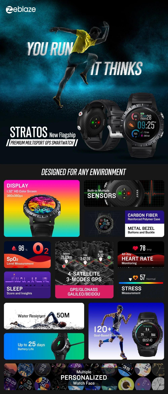 Zeblaze Stratos Gps Sports Smart Watch (1)